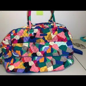 🌈super cute Vera Bradley duffle bag 🌈